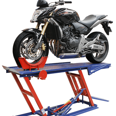 Elevador de Moto Hidráulico 2e4Rodas 400Kg EMCH400