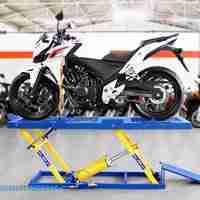 Elevador de moto para lavação 2e4Rodas 400Kg –EMCPL400