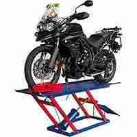 elevador de moto pneumático standard 2e4rodas 350 kg emcps350