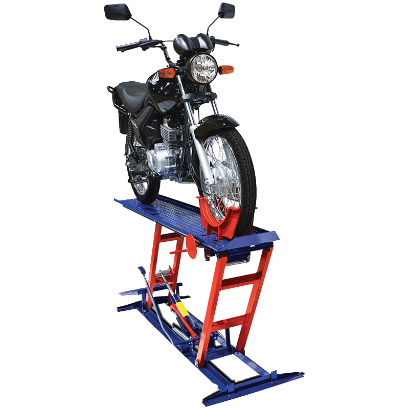 rampa hidráulica para moto 2e4Rodas 250Kg