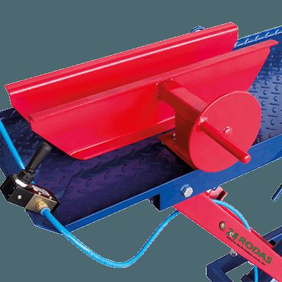 Prendedor de rodas reforçado com altura de 120 mm