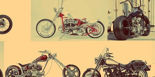 Quais são os estilos de motos customizadas