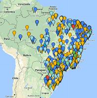 mapa clientes 2e4rodas