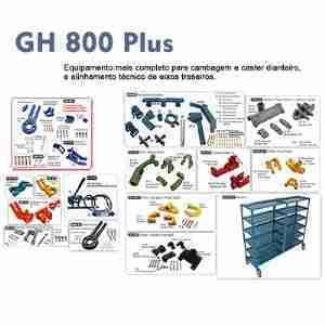 DEQ 800 Plus – Cambagem e Caster