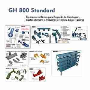 DEQ 800 Standard – Cambagem e Caster