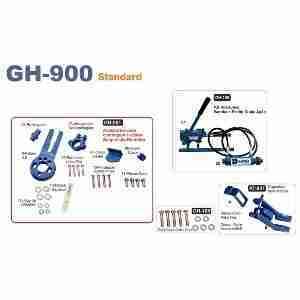 DEQ 900 Standard – Acessórios para Eixo Dianteiro