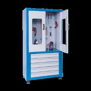 Armário de Aço Porta Ferramentas com 5 Gavetas – ARMPM22