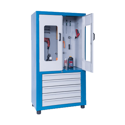 Armário com Prateleiras de Aço Reguláveis - ARMPM01