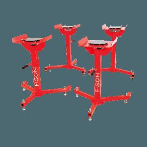 CV 10 – Cavaletes com Pratos Giratórios
