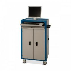 Rack para Computador Industrial com Suporte para Teclado e Mouse – DEQRV04