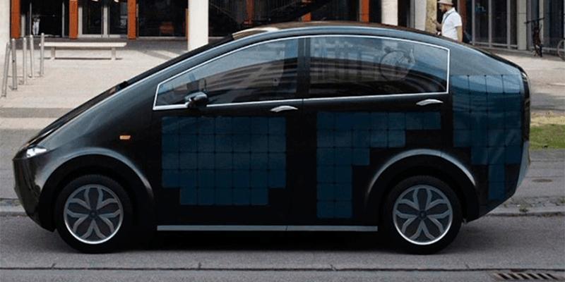 Como é o carro movido a energia solar