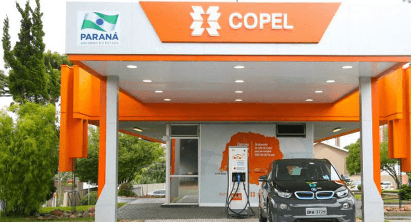 Como será os postos de abastecimento de carros elétricos COPEL – PR