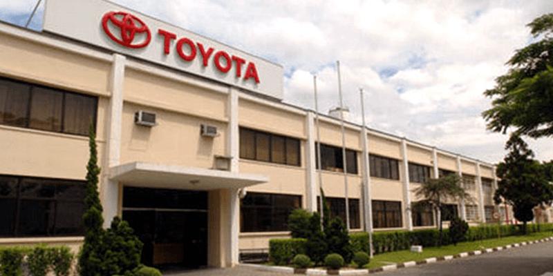 Por que a Toyota do Brasil está comemorando ?