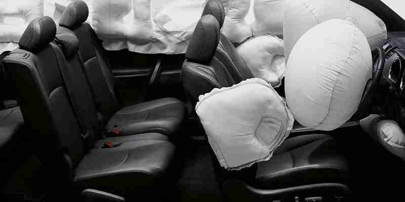 Como será o airbag de joelho desenvolvido pela ZF?