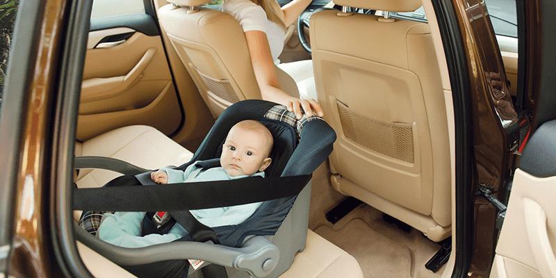 Aprenda como instalar a cadeirinha de bebê