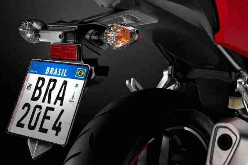 Novas placas para moto e carro em Setembro 2018