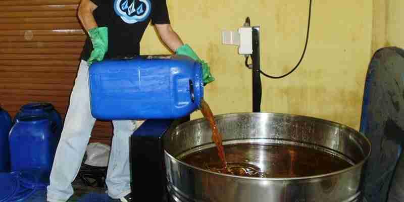 Como fazer o descarte correto de fluídos lubrificantes?