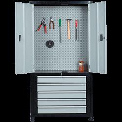 Armário de aço para ferramenta com 5 gavetas ARMOK13
