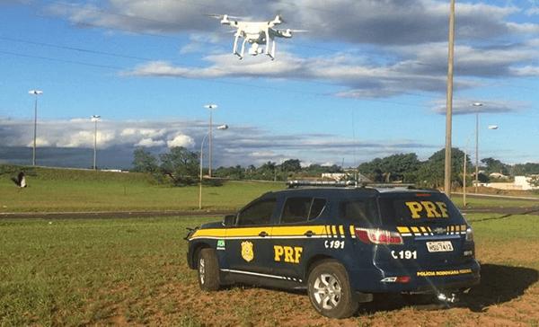 Como são os drones que podem multar?