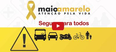 Maio Amarelo chama atenção para a violência no trânsito