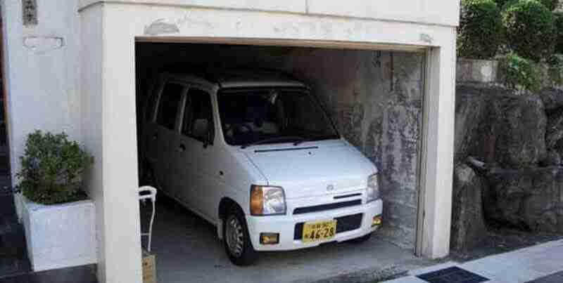 Como ganhar espaço com garagem escondida?