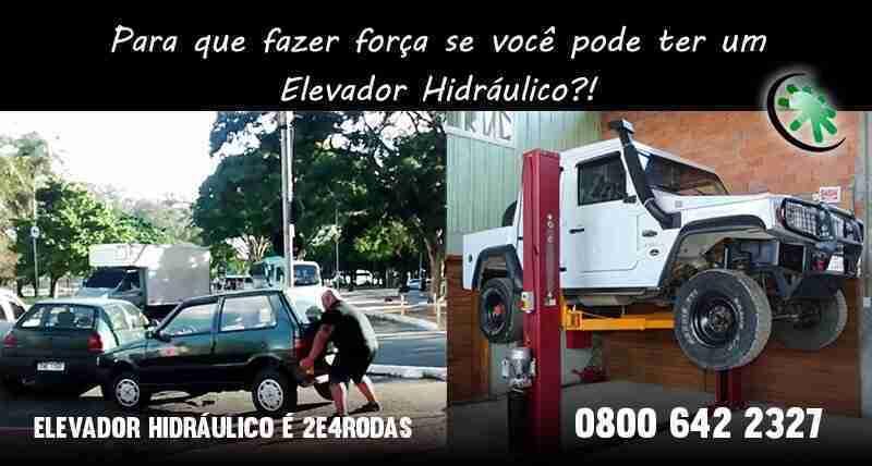 Por que ter o Elevador Automotivo Hidráulico 4200 Quilos ?