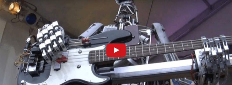 Qual o gosto musical dos robôs