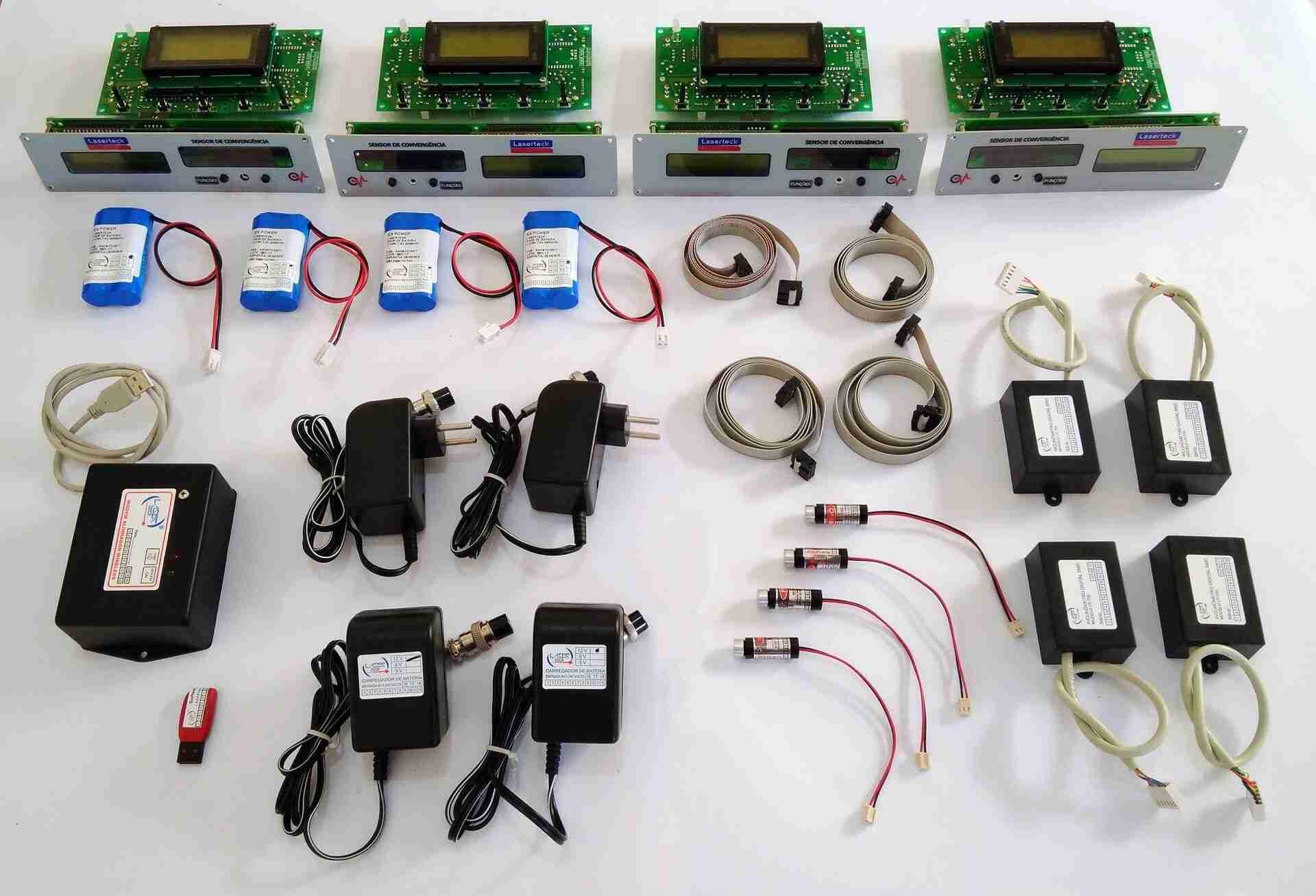 alinhador a laser kit alinhador computadorizado wireless