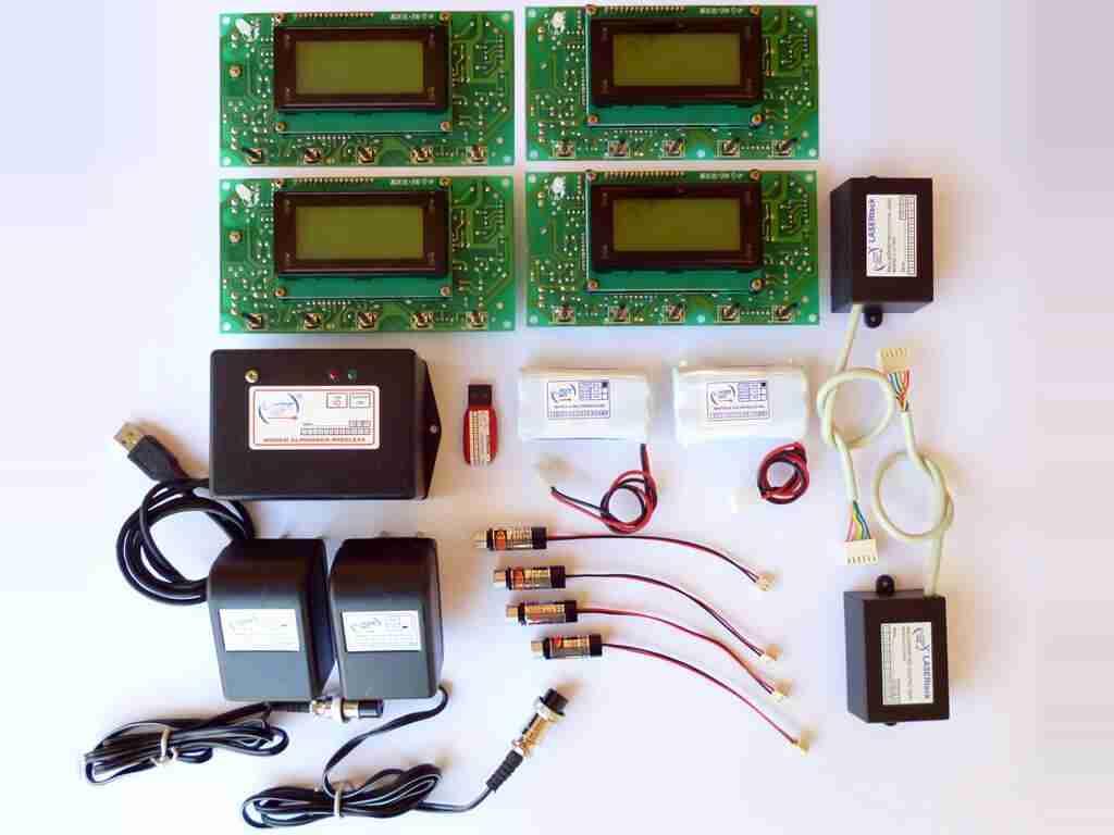 alinhador a laser kit alinhador digital wireless
