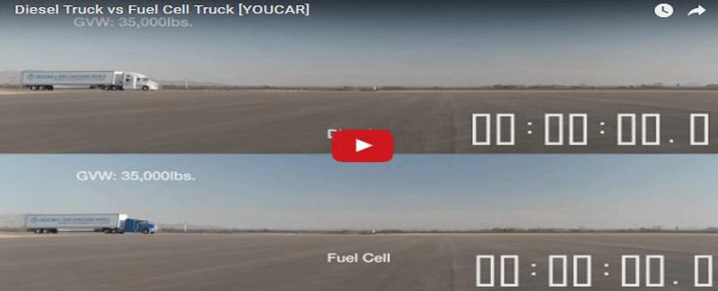 Qual é o melhor? Caminhão a Diesel ou Caminhão a hidrogênio?