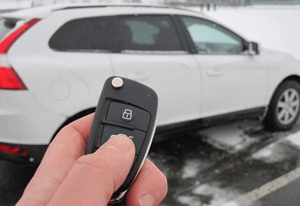 Como surgiu a chave do carro