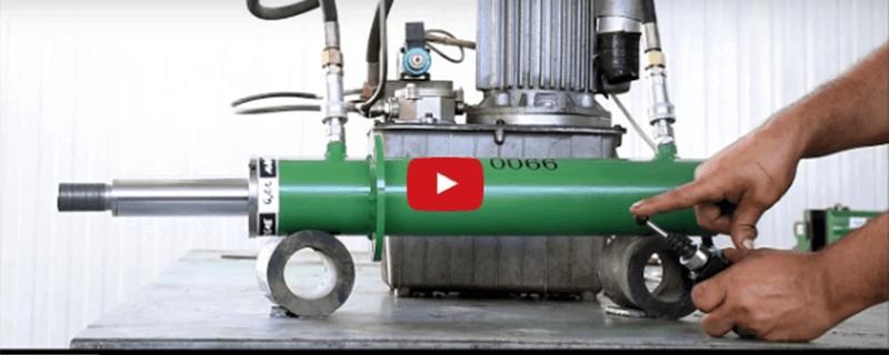 Como se faz um cilindro hidráulico?
