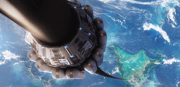 Como será o elevador espacial