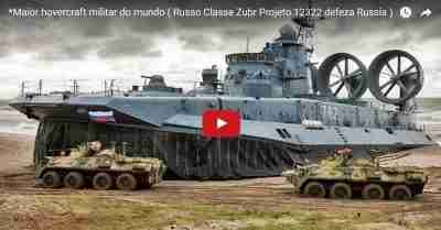 Maior hovercraft militar do mundo