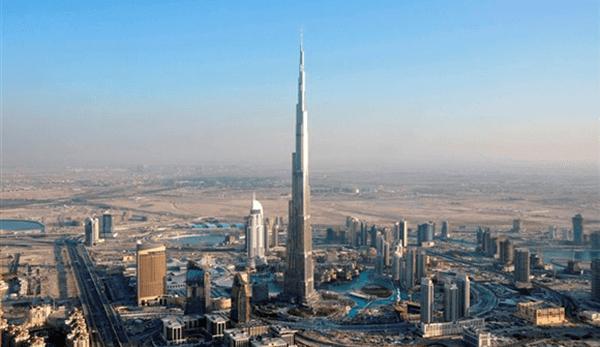 Como é o feito o teste no elevador do  maior edifício do mundo