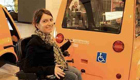 Veículos adaptados para cadeirantes