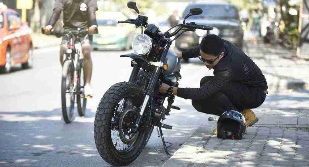 Barulhos no motor da moto