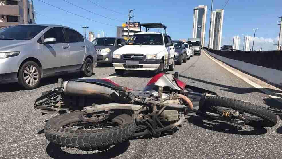 Por que tantos acidentes com motos?