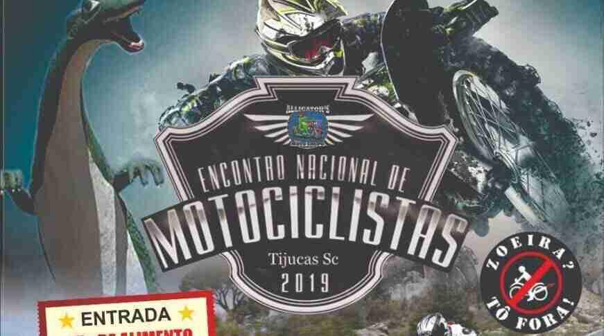 1º Encontro Nacional de Motociclistas em Tijucas-SC