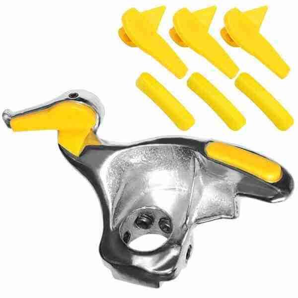protetor amarelo de nylon