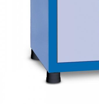 GAVPM816A - Gaveteiro Organizador para Oficinas com 2 Gavetas e 1 Porta com Visor de Acrílico - GAVPM816A 6