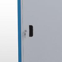 GAVPM816A - Gaveteiro Organizador para Oficinas com 2 Gavetas e 1 Porta com Visor de Acrílico - GAVPM816A
