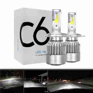 Lâmpada LED para Farol Auto Fogo 12 V / 24 V C6