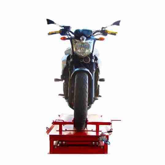 Elevador De Moto Pantográfico Pneumático