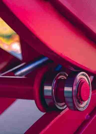 Elevador De Moto De Tesoura Pneumático Rolamento-compressor