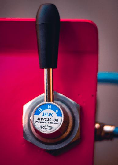 Rampa De Moto De Tesoura Pneumático alavanca