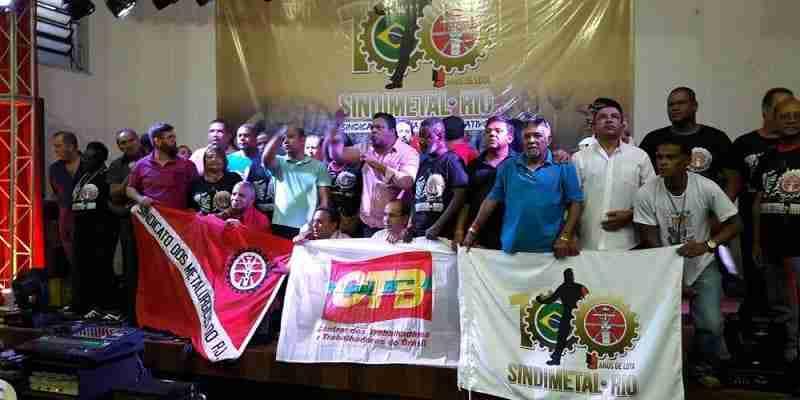 Conheça o Sindicato dos Metalúrgicos do Rio de Janeiro
