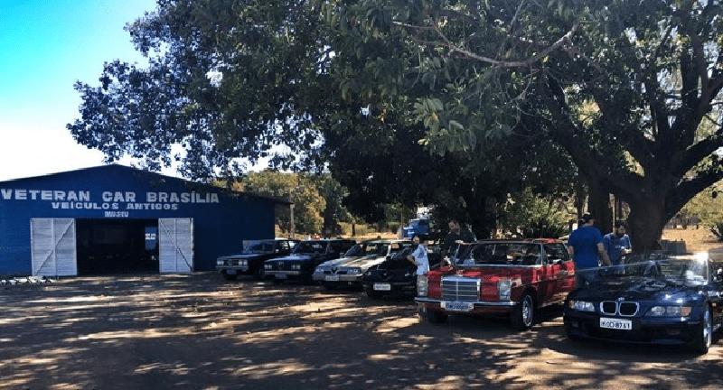 Conheça o Veteran Car Clube de Brasília
