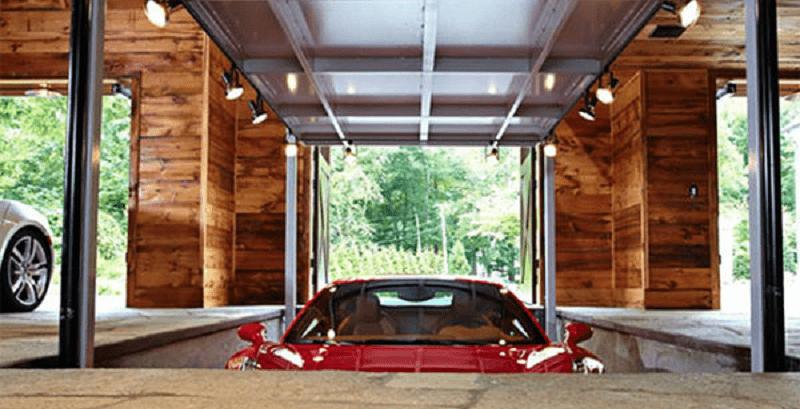 Ganhe espaço com  garagem escondida