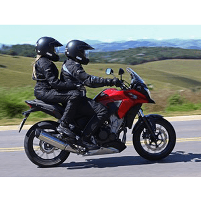 viajar de moto com Honda C 500X